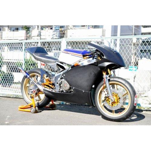 他の写真1: オリジナル フルカウル TYPE-2 ストリート 【 Mugello-Strada 】 FRP製 [ 黒ゲル /カーボン ] MC18・21・28
