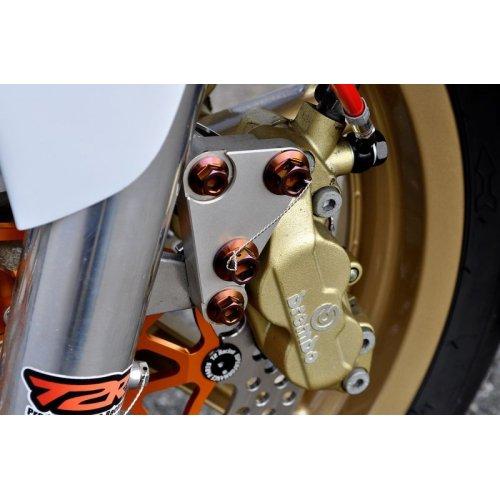 他の写真1: β-Titanium製 ブレンボキャリパー用 ボルト【 4本1セット 】 MC18 / MC21 / MC28