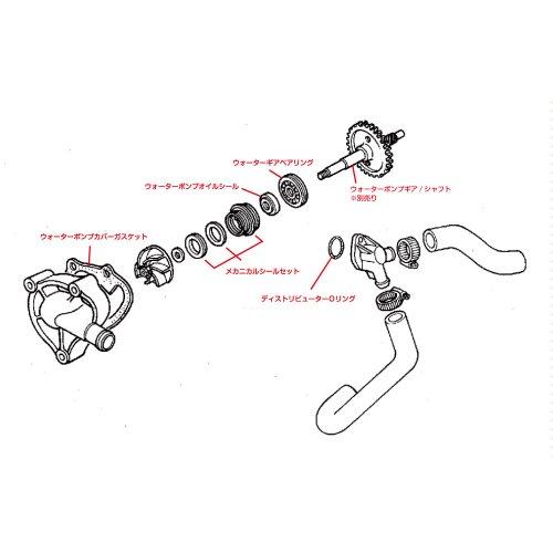 他の写真1: ウォーターポンプ周りOHキット -T2Racing Selection Series-