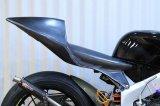シートカウル TYPE-3 ストリートタイプ  FRP製 [ 黒ゲル ] 【 フロントポジション 】MC21・28