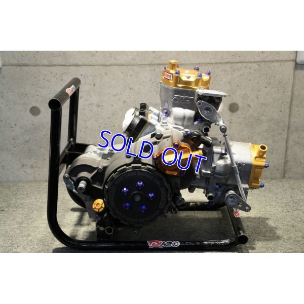 画像2: T2Racing制作 乾式 コンプリートエンジン 【 300cc 】