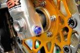 β-Titanium製 フロントフォーク割ボルト【 2本1セット 】MC18 / MC21 / MC28